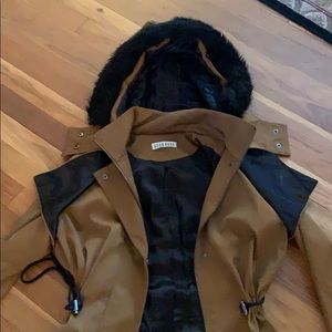 Coar black and brown size small